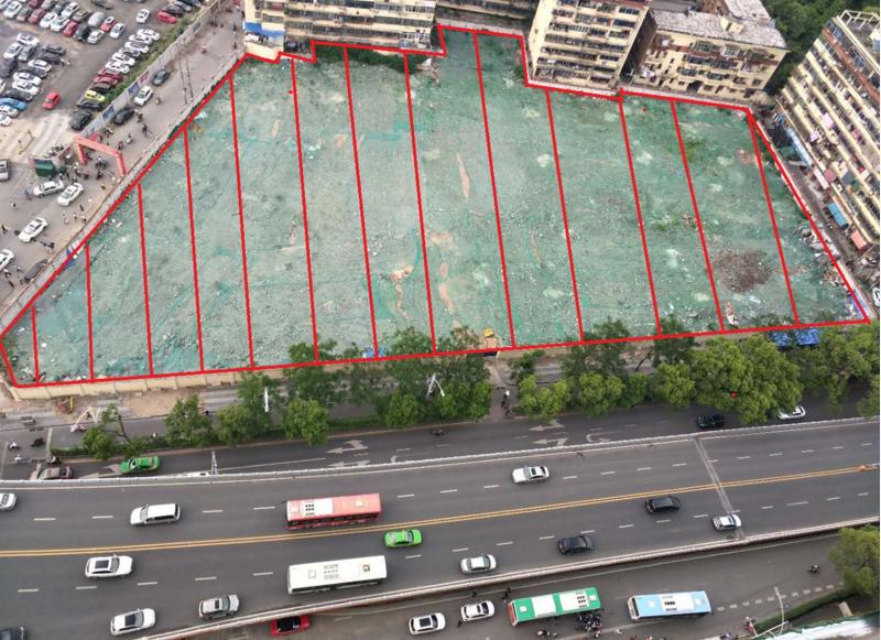 南昌城中心地块 恭喜博瑞置业1.69亿元竞得