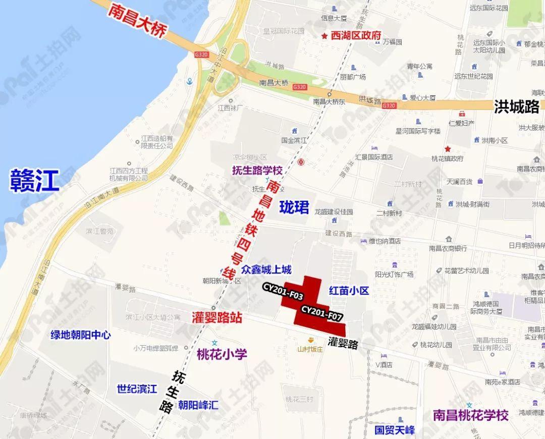 南水投玖悦府交通图