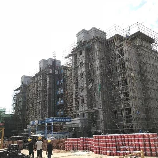 淮矿·东方蓝海:8月工程进度,新家生长