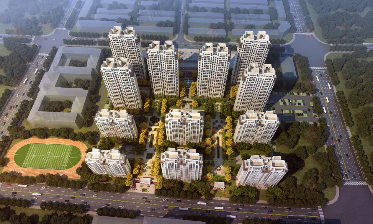 蚌埠新城悦隽天著楼号图