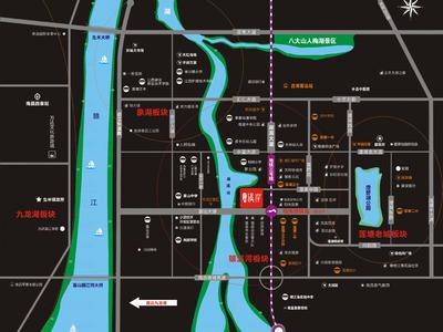 正和溪岸交通图