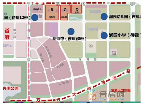 招商雍和府 交通图