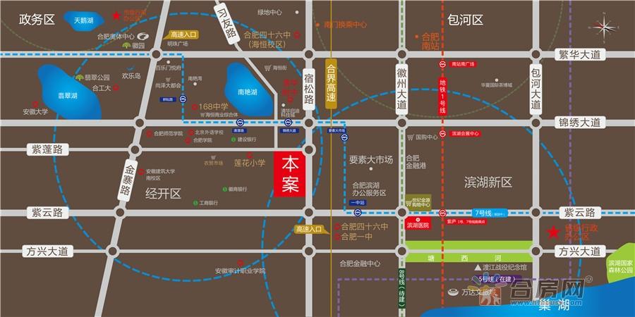 邦泰·科技城交通图