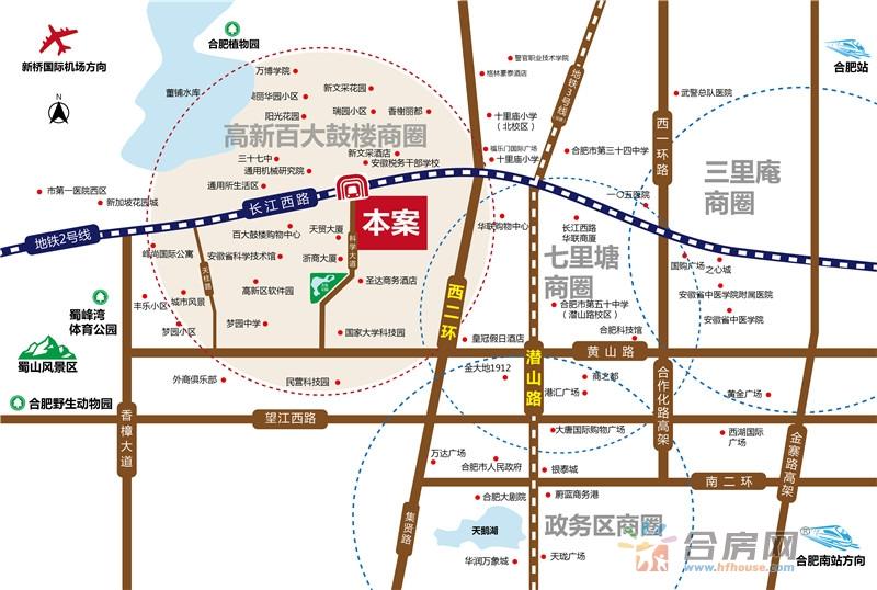 信铃国际•天启交通图