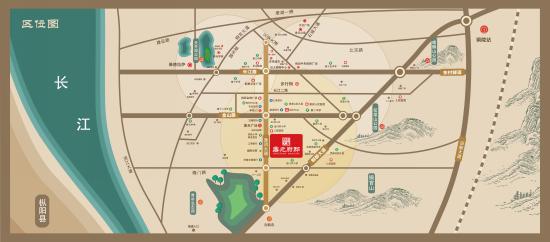拓基·鼎元府邸交通图