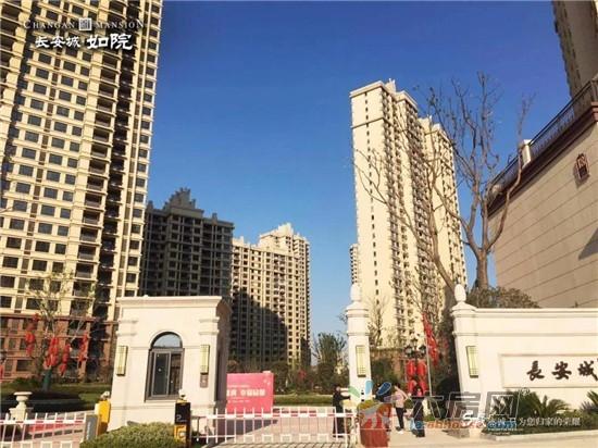 长安城如院 5年载精工雕琢,今日品质璀璨绽放!