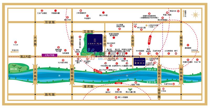 上河时代·天悦交通图