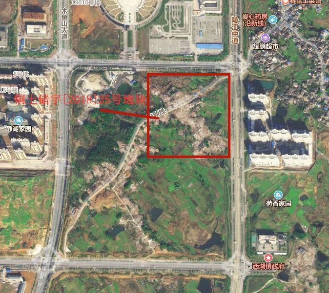 铜陵市西湖新区一宗居住用地公开出让!