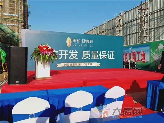 11月23日,国祯·健康城工地开放日盛大举行