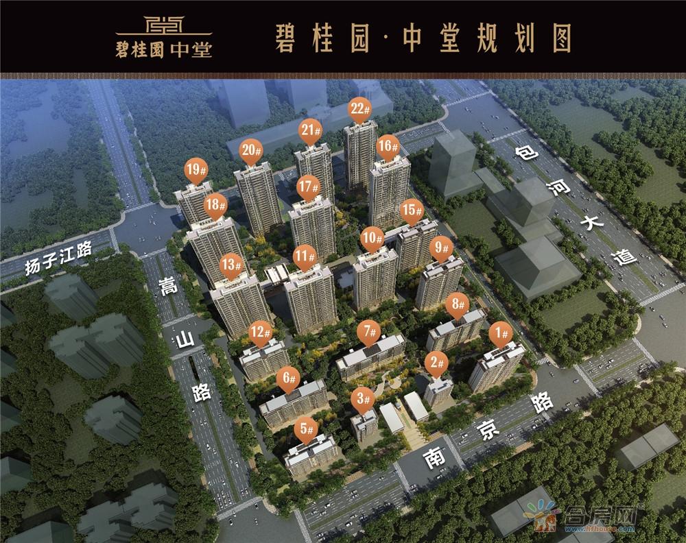 碧桂园中堂效果图