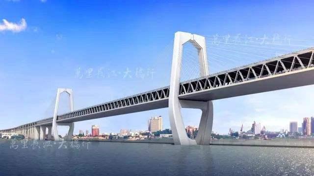 商合杭铁路芜湖公铁大桥计划于2020年通车