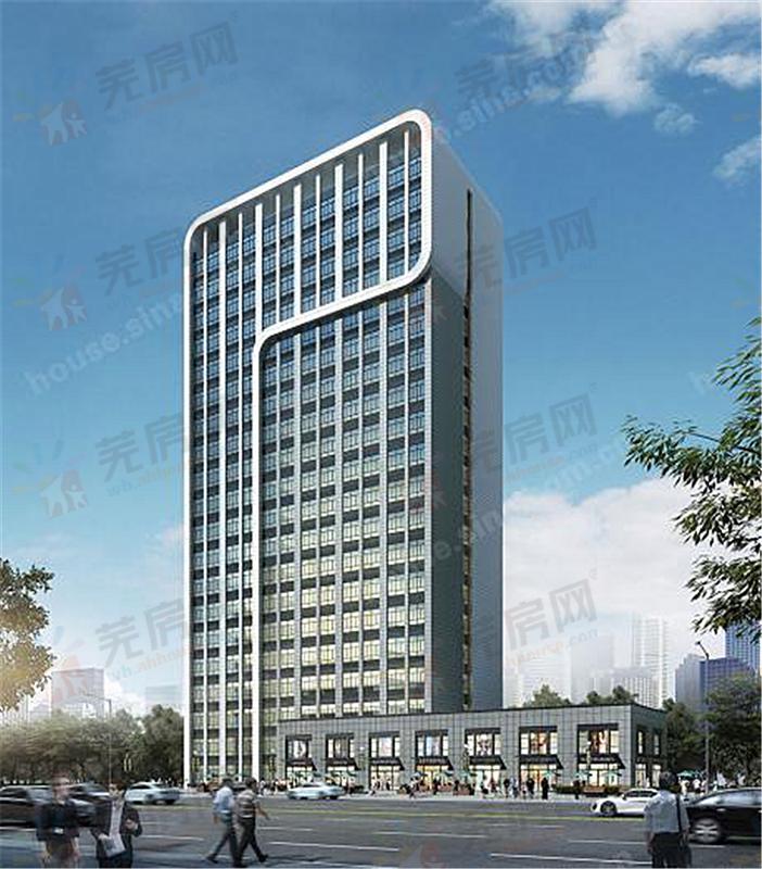 芜湖汽贸城·甲壳虫公寓效果图