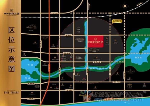 碧桂园·时代之光区位图