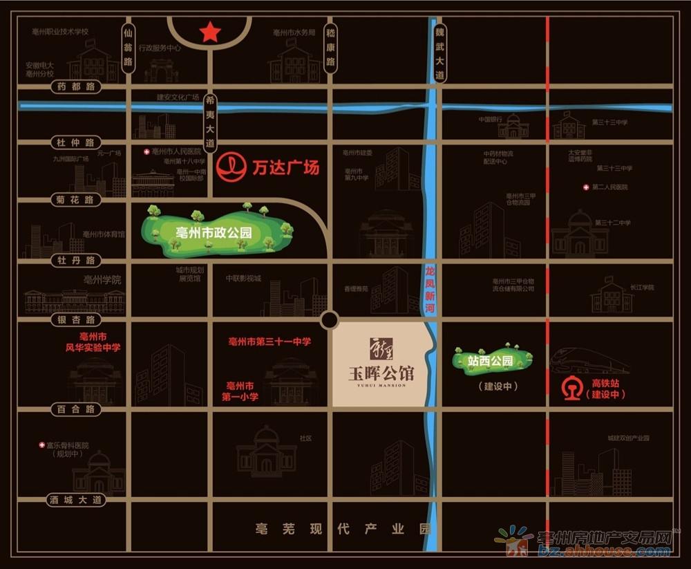 绿地·新里玉晖公馆交通图