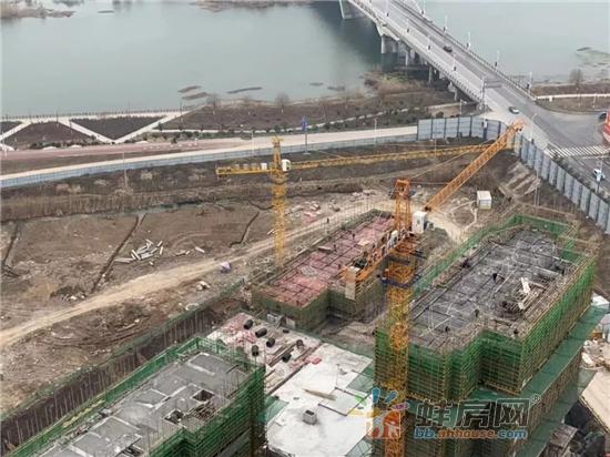 安建·尚河源筑1月工程进展:1#2#已经封顶