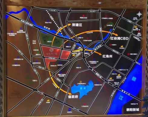 金龙湾小镇交通图