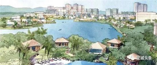 规划曝光!宣城南漪湖定位国际级旅游度假区