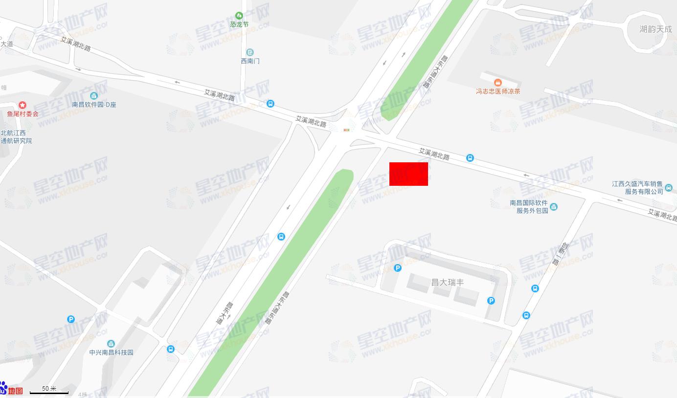 力高雍湖景畔中心交通图