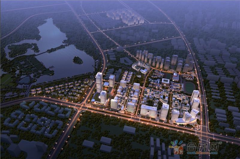 合肥启迪科技城水木园楼号图