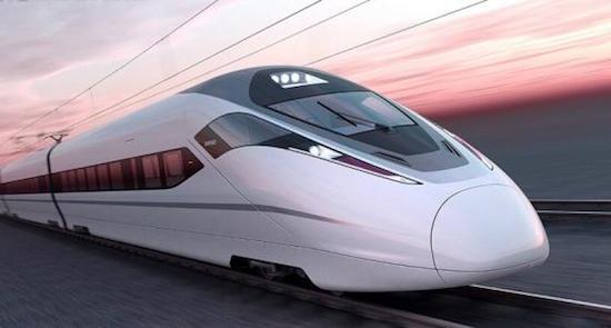 商合杭高铁淮南南站主体结构封顶 未来可直达上海