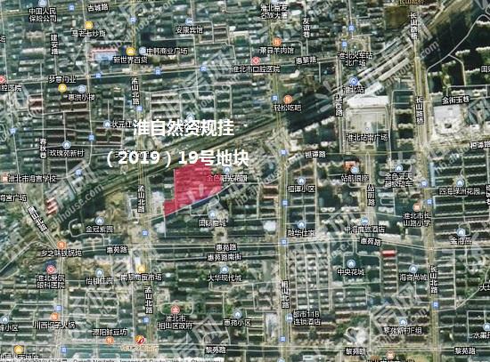 探地|淮北市中心44.16亩居住用地明日开拍 起拍楼面价1078元/㎡