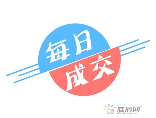 2019年4月9日淮北楼市备案排行 共备案80套