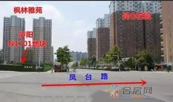 上坤·海棠四季交通图