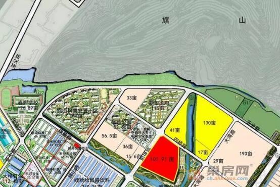 蓝光地产首进巢湖!以525万/亩拿下城南百亩居住地