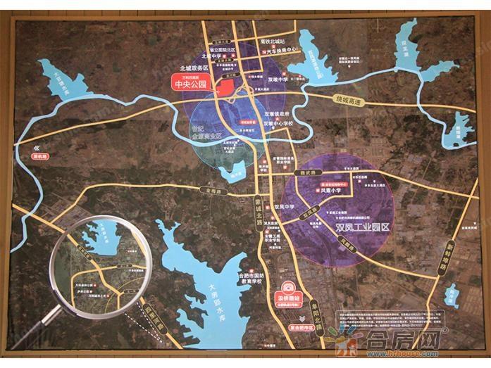 万科苏高新·中央公园交通图