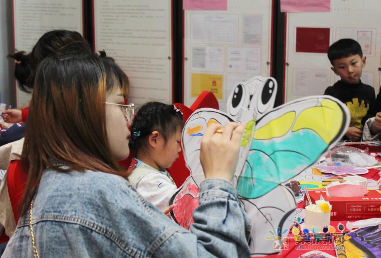 现场火爆 | 新华龙府亲子彩绘风筝节现场嗨翻天!