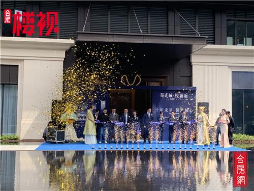 阳光城悦澜府美学体验馆城心首映!