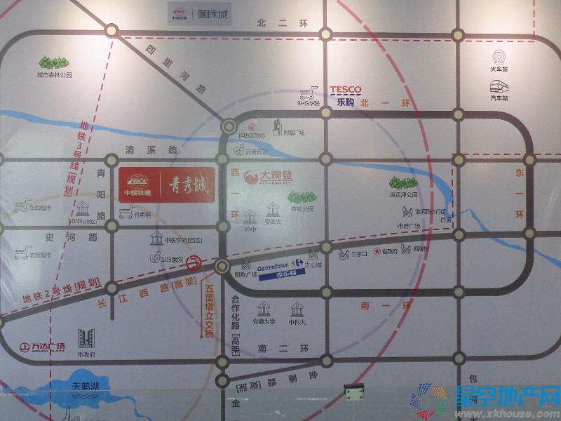 中国铁建·清溪国际璟园交通图