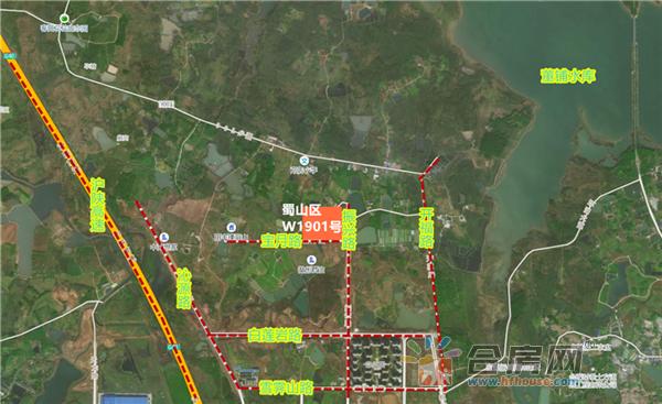龙湖·天境交通图
