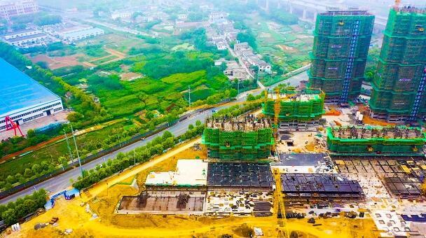 爱巢天润公馆1#、14#、15#楼最新工程进度