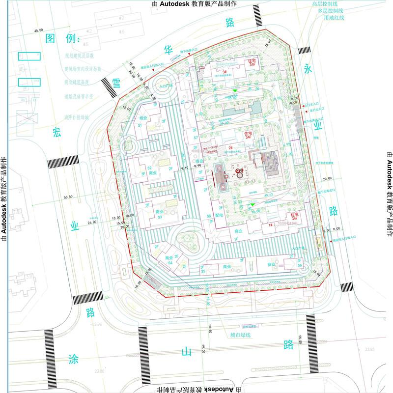 蚌埠鸿运名邸规划公示 主城区再添3栋住宅8栋商业