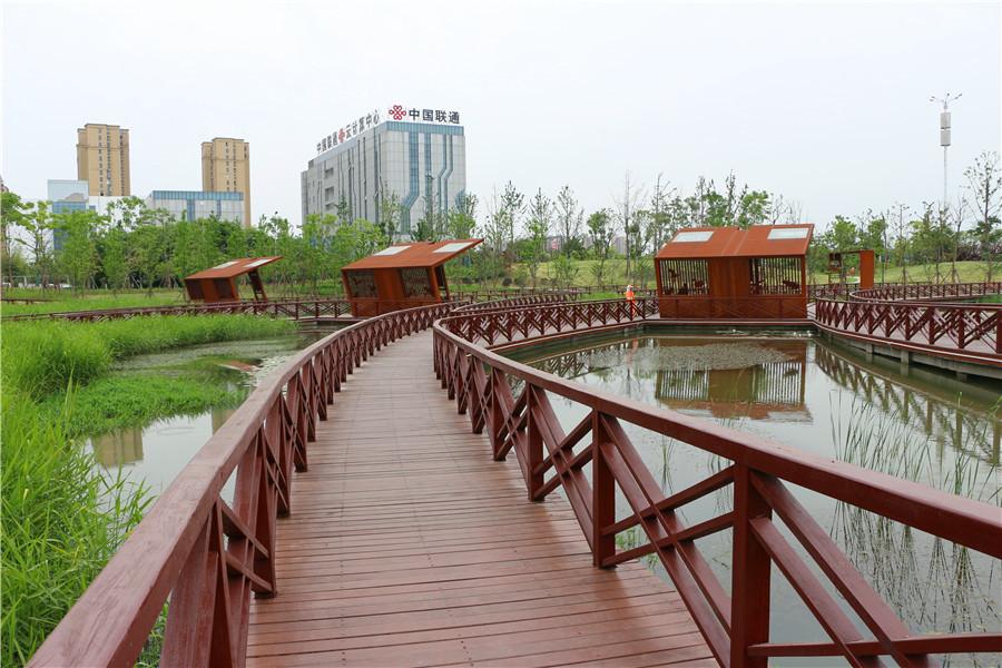花、树、亭、廊…… 属于芜湖人的人民公园来啦!