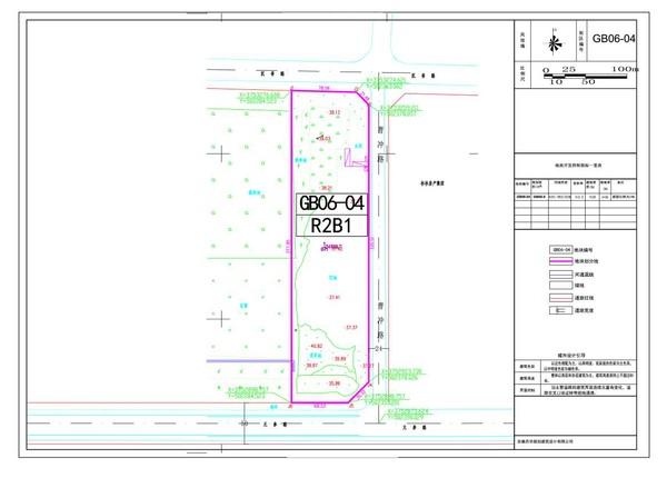 最新两个地块控规调整,亳州市第一宗限高商住地块