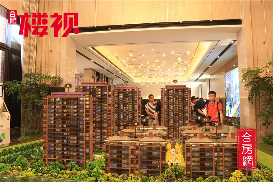 5月12日 瑶海区纯新盘和悦风华售楼部盛大开放