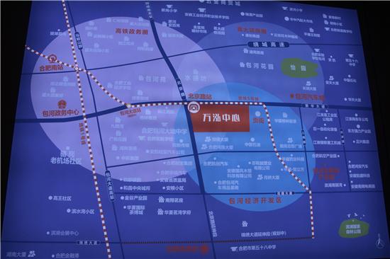 五号线来了!万泓中心打造包河新商业旗舰!