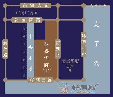 荣盛华府二区·寓玺交通图