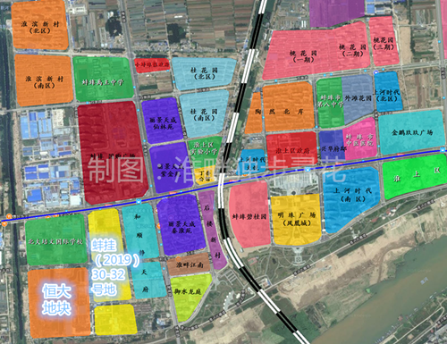 蚌埠淮上三幅宅地全部拍卖 多家知名房企参与竞拍