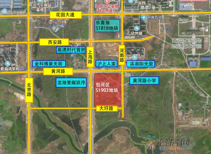 包河区S1903号交通图