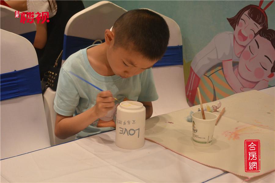 高速中央公园父亲节陶瓷彩陶瓷彩绘DIY活动圆满完成
