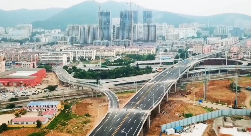 东岗楼立交桥改造工程收官 通车时间敲定!