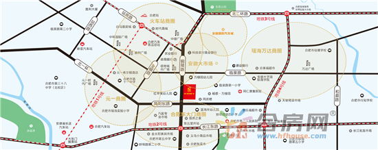 安兴·相王城市广场交通图