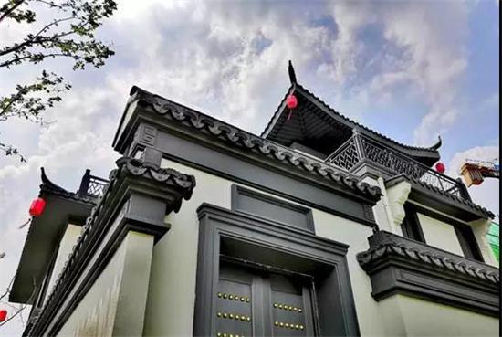 合院东方 开盘在即 金鹏·中国印开启淮北院落生活