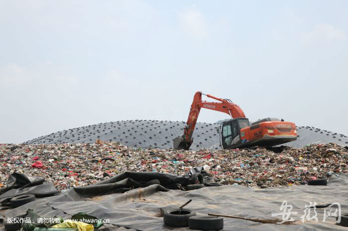 龙泉山不再埋垃圾 合肥市区将实现生活垃圾零填埋
