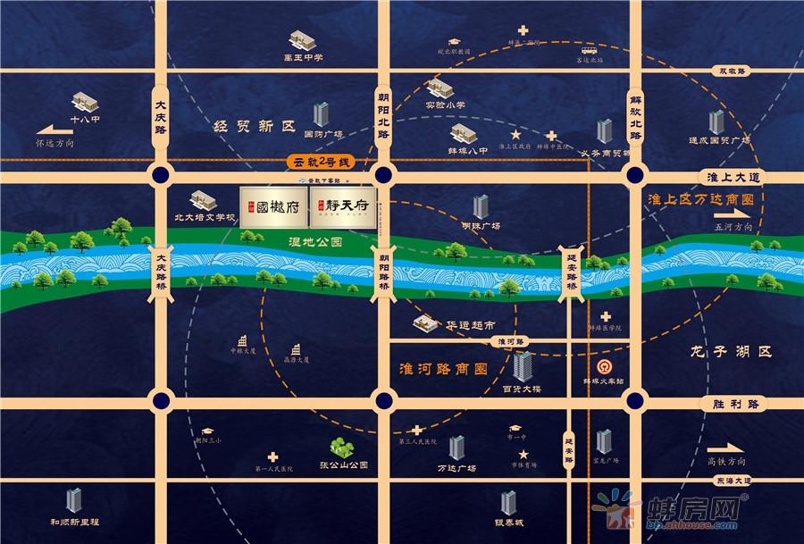 和顺国樾府交通图