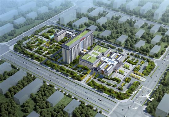 投资6亿!肥西县中医院新区方案已定!建成后是这样!