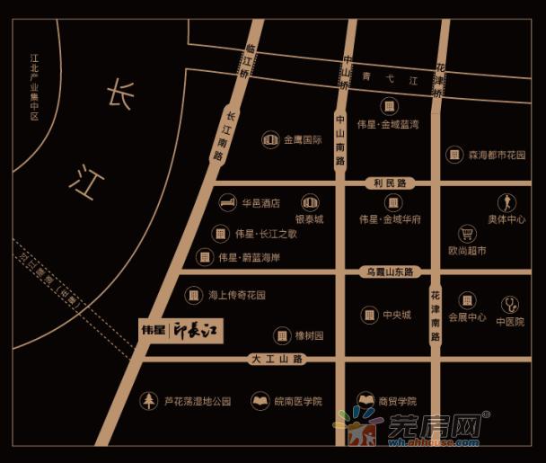 伟星·印长江交通图